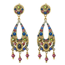 Michal Golan Earrings - Florence Open Drop Dangle