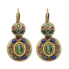Michal Golan Jewelry Florence Double Round Earring