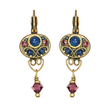 Michal Golan Earrings - Florence Small Oval Drop
