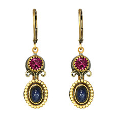 Michal Golan Earrings - Florence Small Double Round