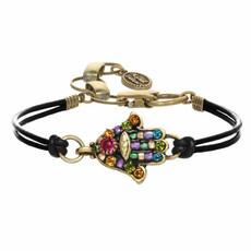 Michal Golan Multiblack  Hamsa Bracelet