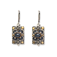 Michal Golan Earrings - Metallica Rectangle Wire