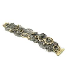 Anat Collection Vintage Vogue Sterling Silver Bracelet