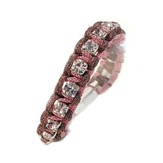 Anat Jewelry Ella Bracelet - Burgandy And Pink