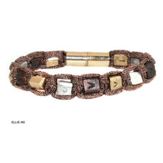 Anat Jewelry Bracelet - Brown Sterling Silver