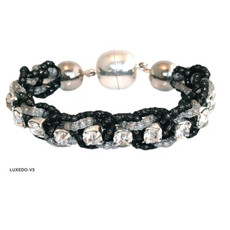 Anat Jewelry Bracelet - Black And Silver