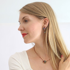 Michal Golan Confetti With Dangle Earring