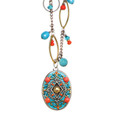 Michal Golan Jewelry Necklace Coral Sea