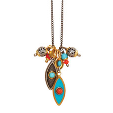 A Beautiful Coral Sea Necklace From Michal Golan Jewelry