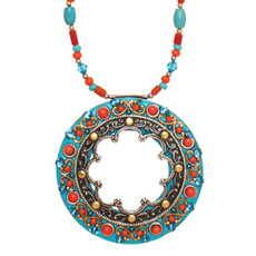 Michal Golan Necklace Coral Sea - N3119