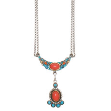 Michal Golan Jewelry Coral Sea Necklace
