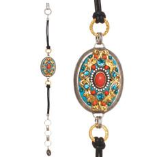 Michal Golan Coral Sea Oval Bracelet