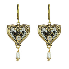 Michal Golan Earrings Art Deco