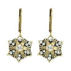 Israeli Deco Earrings By Michal Golan
