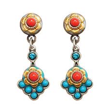 Michal Golan Earrings Coral Sea - S7642