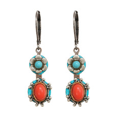 Michal Golan Earrings Coral Sea - S7646