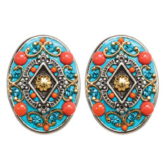 Michal Golan Earrings Coral Sea - S7652C