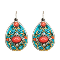 Michal Golan Jewelry Coral Sea Earrings - S7653
