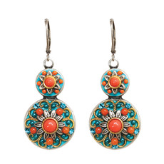 Michal Golan Coral Sea Earrings - S7672
