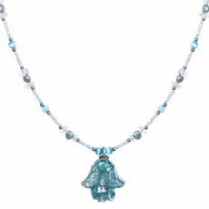 Michal Golan Aquamarine Necklace