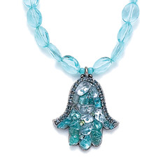Aquamarine Necklace By Michal Golan Jewelry