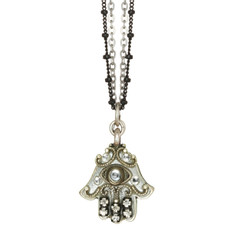 Michal Golan Intricate Evil Eye Hamsa