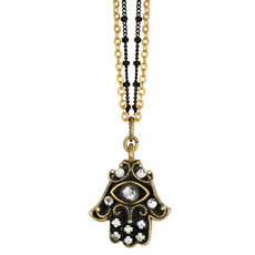 Evil Eye Crystal Necklace