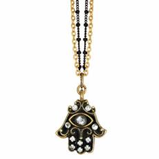 Evil Eye Crystal Necklace