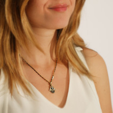 Michal Golan Small Hamsa Necklace