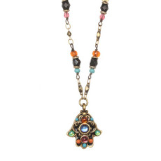 Michal Golan Jewelry Evil Eye Hamsa Necklace