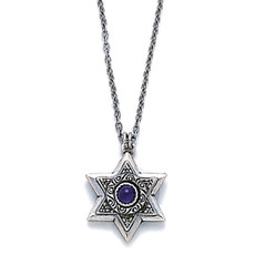 Michal Golan Silver Star Of David Necklace