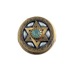 Opalescent Star Of David