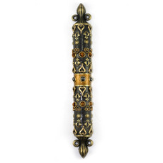 Tiger Eye Mezuzah
