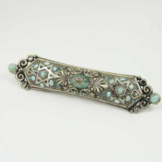 Silver And Stars Mezuzah
