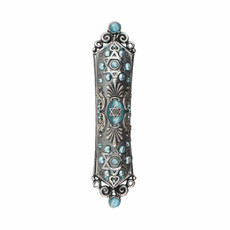 Mezuzah in Cat's Eye