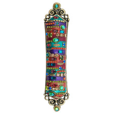 Multibright Motif Mezuzah