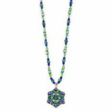 Michal Golan Necklace Peacock