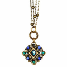 Michal Golan Jewellery Peacock Necklace