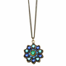 Peacock Necklace By Golan Jewelry