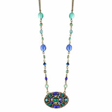 Michal Golan Peacock Necklaces