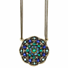 Michal Golan Necklaces Peacock