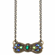 Peacock Necklace By Golan Michal