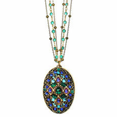 Michal Golan - Necklace Peacock