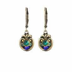 Michal Golan Earrings Peacock Style