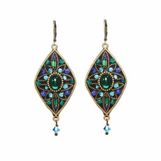 Lovely Peacock Earrings From Michal Golan