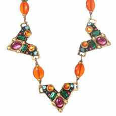 Prismatic Necklace Made By Michal Golan Jewelry