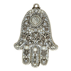 Evil Eye Wall Hamsa From Michal Golan Collection