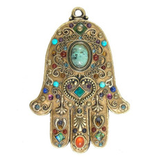 Michal Golan Jewellery Evil Eye Hamsa