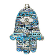 Evil Eye Wall Hamsa From Golan Michal Jewelry