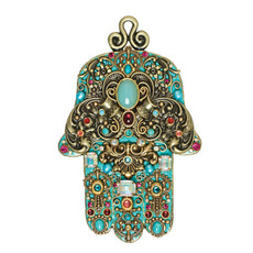 Michal Golan Wall Hamsa Protection